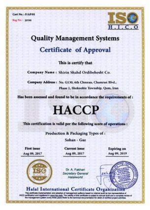 a HACCP
